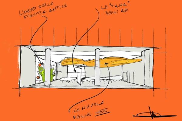 Making of Light - Come si fa la luce - 03_Fastweb_sketch