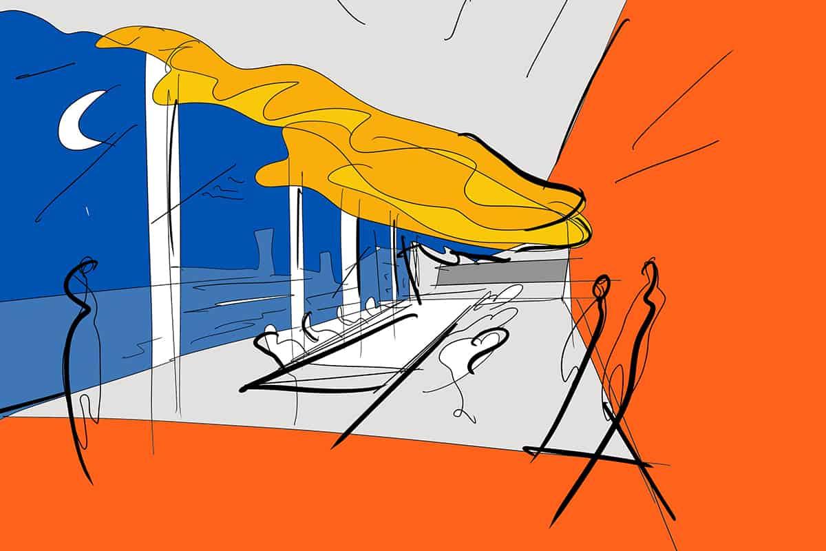 Making of Light - Come si fa la luce - 05_Fastweb_sketch