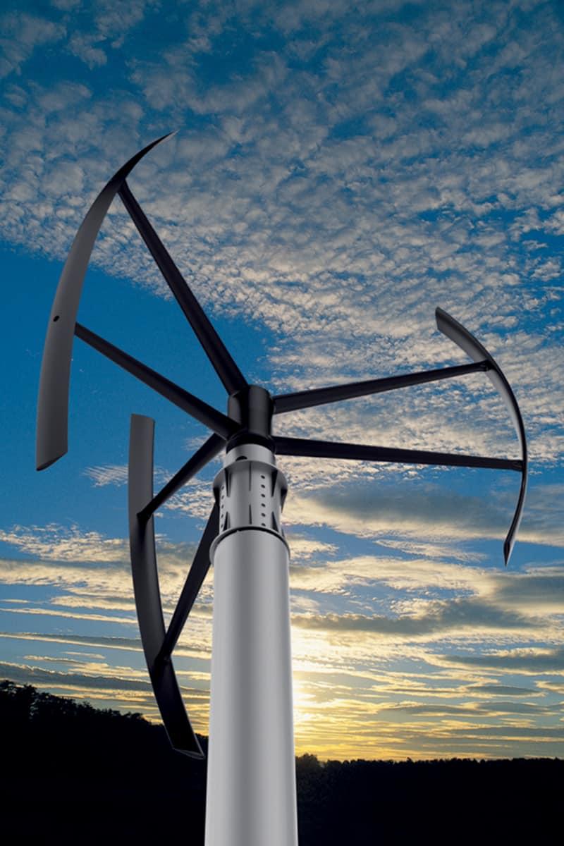 Making of Light - Illuminazione e turismo responsabile - Coral Lodge_Turbina microeolica Ecolibrì