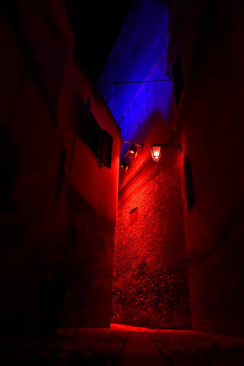 Making of Light - Luce rossa luce blu - 5