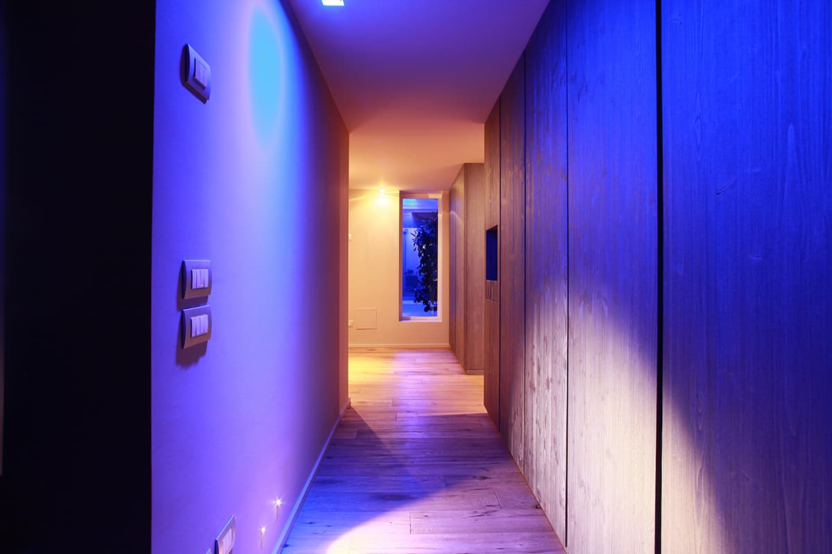 Making of Light - Luce rossa luce blu - a