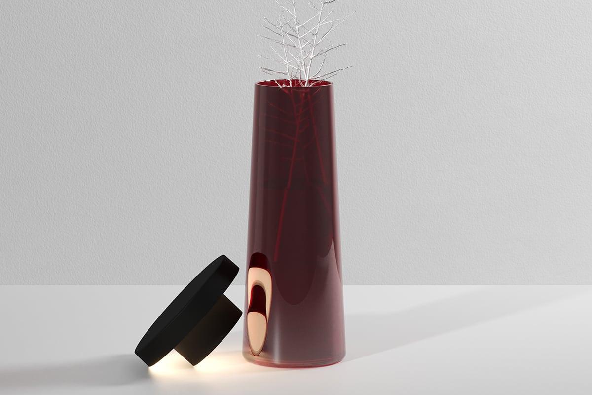 Making of Light - Suro o la libertà assoluta - 03_Murano red