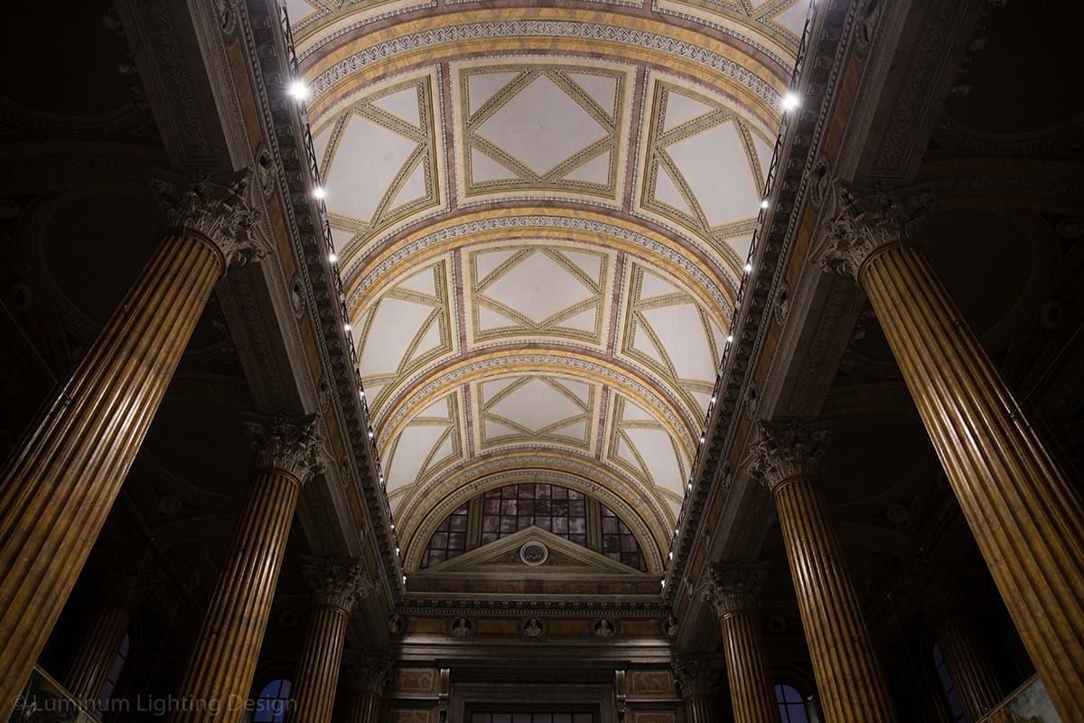 08 Making Of Light Illuminare è Dare Nuovi Valori Cattedrale S Maria Assunta Novara Illuminazione Volte