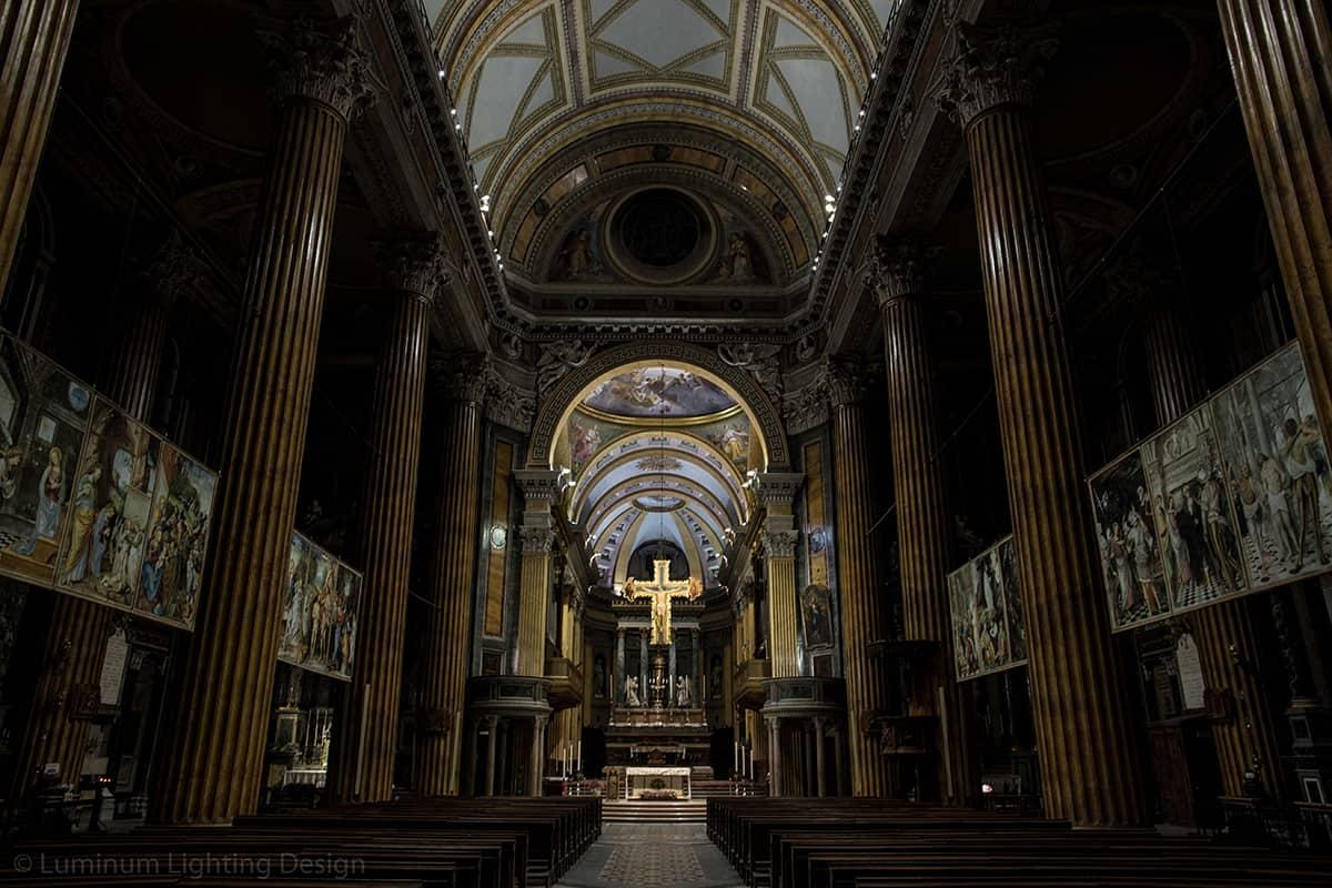 09 Making Of Light Illuminare è Dare Nuovi Valori Cattedrale S Maria Assunta Novara Illuminazione Crocifisso Scenario 1