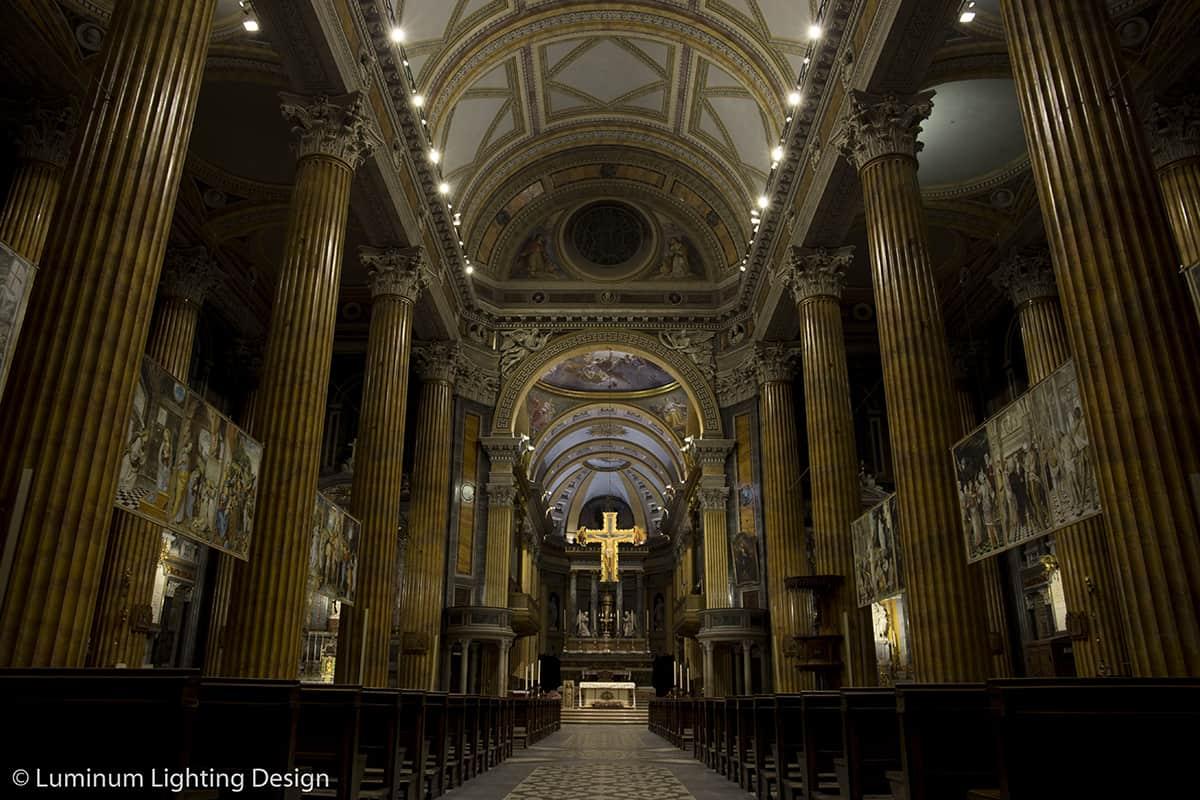 10 Making Of Light Illuminare è Dare Nuovi Valori Cattedrale S Maria Assunta Novara Illuminazione Crocifisso Scenario 2