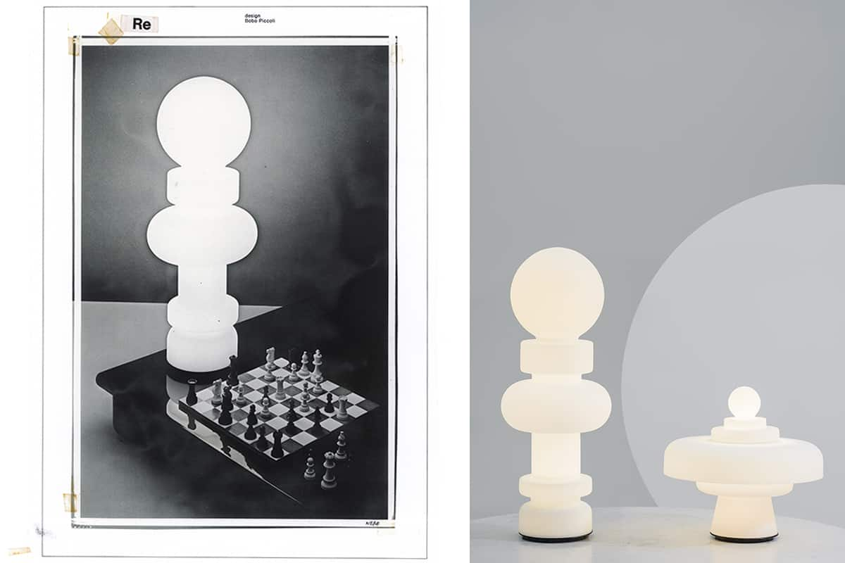 01 Making Of Light Colte Riedizioni Luminose Re & Regina Storica