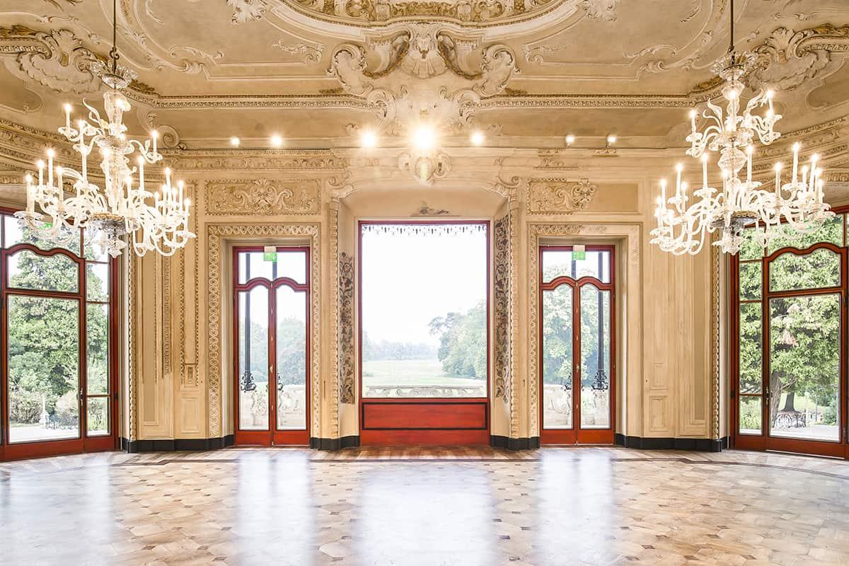 Making Of Light Dialogare Con L'architettura Arcore 2018 Villa Borromeo Atelier(s) Alfonso Femia