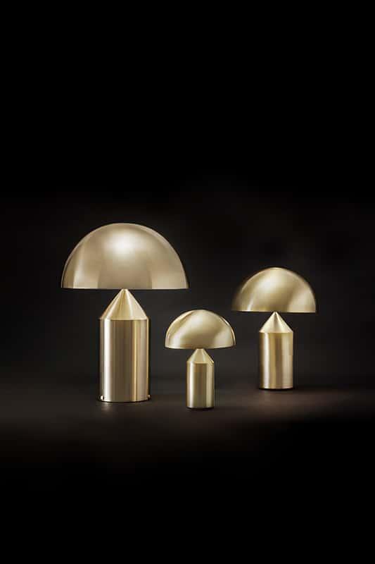 Making Of Light L'oro Di Oluce Siro Design Vico Magistretti Ph A. Brusaferri
