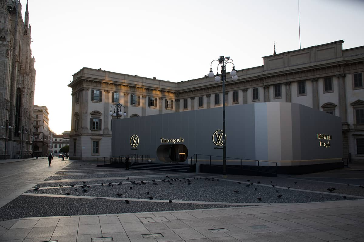 11 Making Of Light Il Lighting Designer è Necessario Louis Vuitton Palazzo Reale