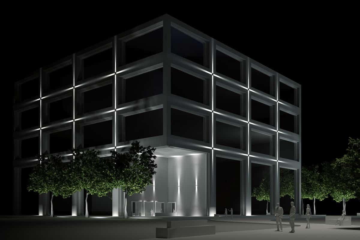 B Making Of Light Punto Linea Superficie Render Grapho