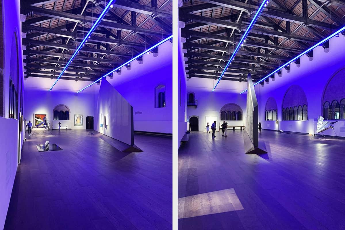 006 Making Of Light Luce Mutante Al Part Salone Dell'arengo 2 Studio Pasetti.