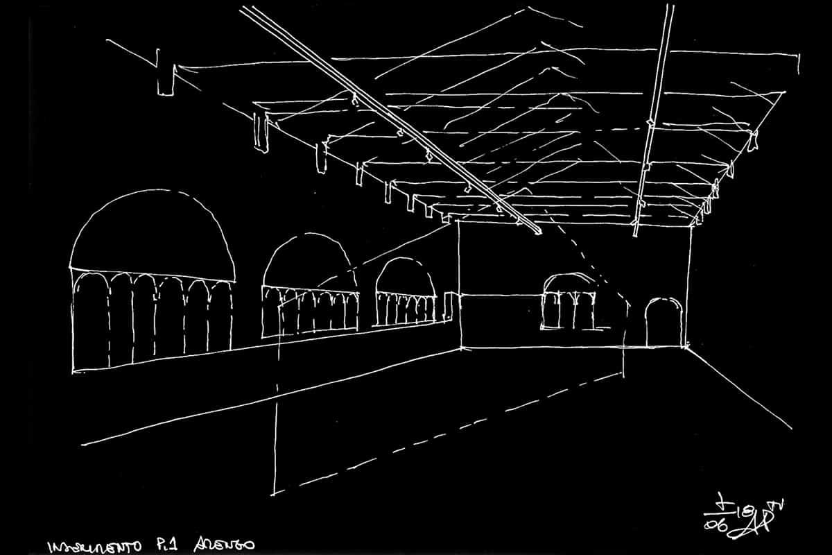 008 Making Of Light Luce Mutante Al Part Schema Inserimento In Salone Arengo @studiopasetti