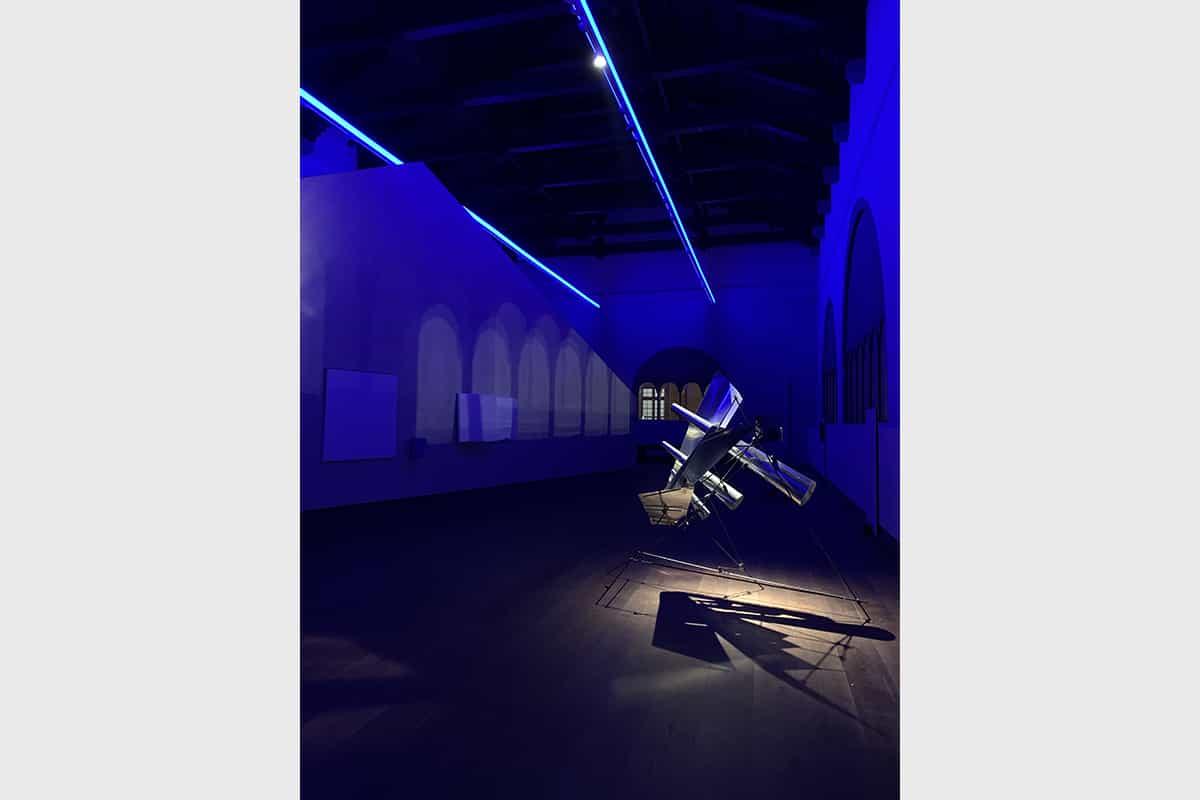 011 Making Of Light Luce Mutante Al Part Salone Dell'arengo, Una Scena Della Sequenza