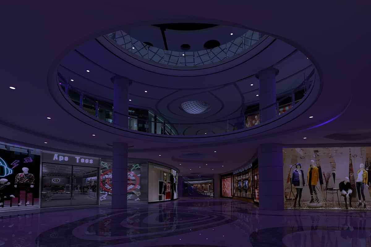 06 Making Of Light Il Benessere Passa Dalla Luce Mall Night
