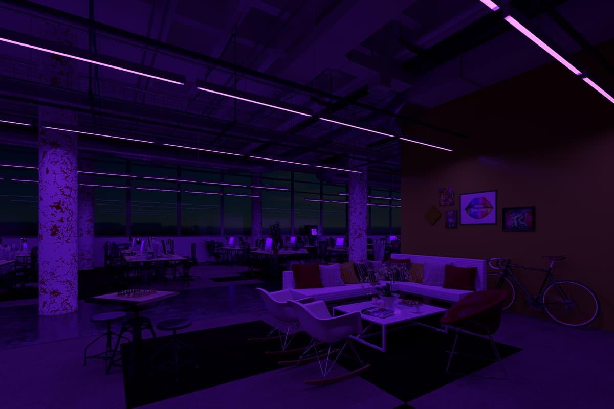 08 Making Of Light Il Benessere Passa Dalla Luce Ufficio Night