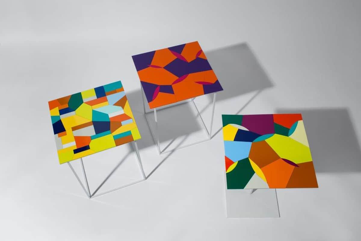 09 Making Of Light Creare L'inaspettato Quadrati Colori Mostra Bonsai Galleria Antonia Jannone, Milano, Marzo 2014