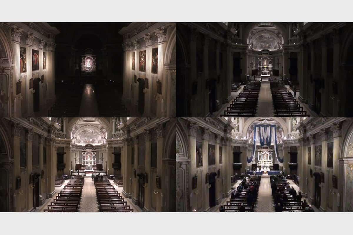 10 Making Of Light Il Lighting Designer Indipendente Santuario Composit Scenari