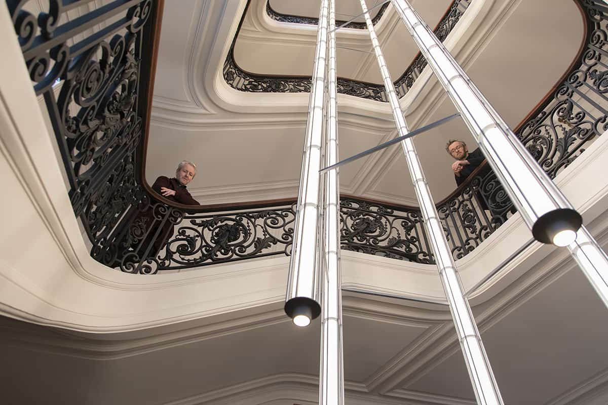 02 Making Of Light Monumentale Verticale Ronan And Erwan Bouroullec Vertical Light Ph Luca Caizzi