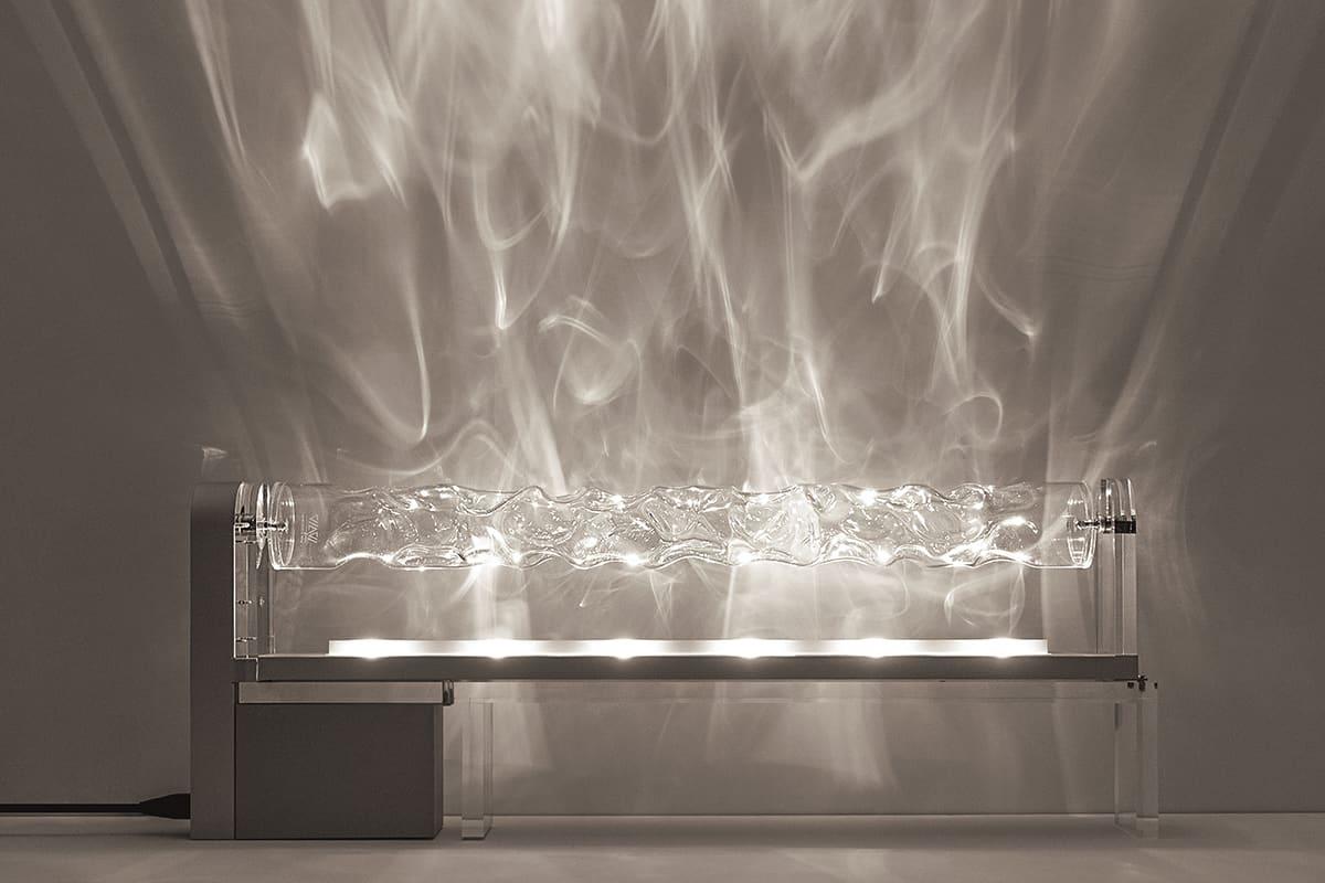 02 Making Of Light Emozionar Lucendo Main Image Be Water Lamp Designed By Fernando Correa Ph Flavio Di Renzo