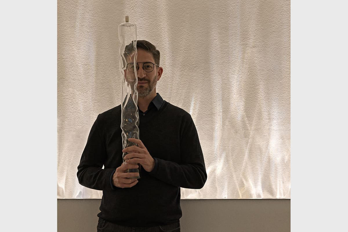 04 Making Of Light Emozionar Lucendo Showroom Be Water Lamp Designer Fernando Correa Ph Matteo Piazza