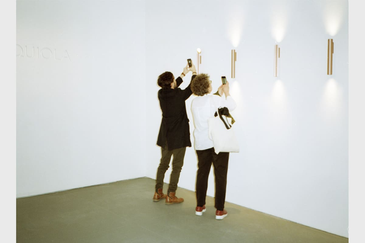 Making Of Light Canone Inverso Caizzi You Are Beautiful Flos Salonedelmobile 2